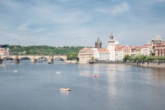 Prague in a beautiful day Stock Photo