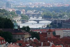 Prague. Beautiful view Stock Images