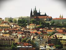 Prague. Beautiful view of Prague. Prague by the river Royalty Free Stock Image