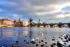 Prague - Bridge Royalty Free Stock Photography