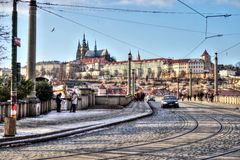 Prague - Bridge Royalty Free Stock Image