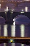 Prague bridges Stock Photos
