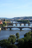 Prague Bridges Royalty Free Stock Photography