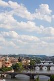 Prague bridges Royalty Free Stock Photography
