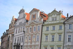 Prague buildings Royalty Free Stock Photo