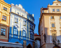Prague: buildings and architecture details Stock Photography