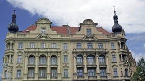 Prague buildings. Old buildings in prague, czech republic Stock Image