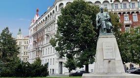 Prague buildings. Old buildings in prague, czech republic Royalty Free Stock Images