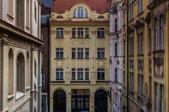 Prague Buildings. Public buildings in the city of Prague Royalty Free Stock Photo