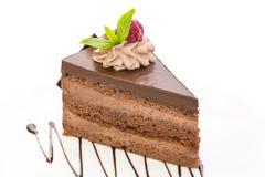 Prague cake Stock Image