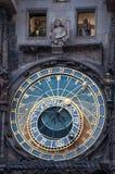 Prague Calendar Clock Royalty Free Stock Photography