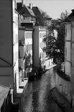 Prague canal Stock Image