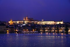 Prague - capital city Czech Republic Stock Photo