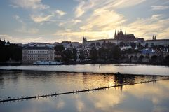 Prague, capital city of Czech Republic Stock Photos
