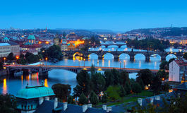 Prague, capital city of Czech Republic Royalty Free Stock Photography