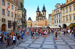 Prague, capital city of Czech Republic Royalty Free Stock Image
