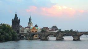 Prague, capital city of Czech Republic stock video