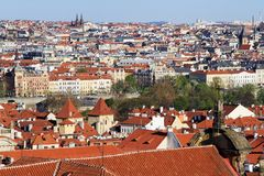 Prague, the capital of Czech Republic Stock Photos