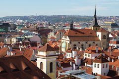 Prague, the capital of Czech Republic Royalty Free Stock Photo