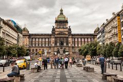 Prague is the capital of the Czech Republic. Royalty Free Stock Image