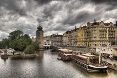Prague is the capital of the Czech Republic. Stock Images