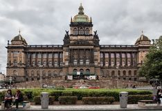 Prague is the capital of the Czech Republic. Royalty Free Stock Photos