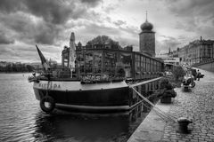 Prague is the capital of the Czech Republic. Royalty Free Stock Photography