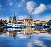 Prague is the capital of the Czech Republic Royalty Free Stock Photography