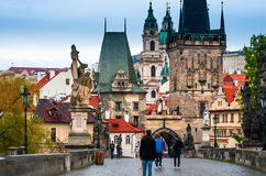 Prague is the capital of the Czech Republic Stock Photos