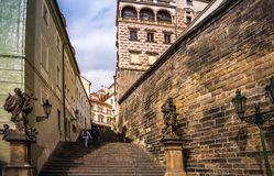 Prague is the capital of the Czech Republic Royalty Free Stock Images