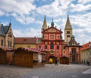 Prague is the capital of the Czech Republic Stock Photography