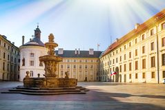 Prague is the capital of the Czech Republic Royalty Free Stock Image