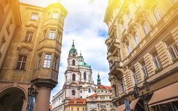 Prague is the capital of the Czech Republic Royalty Free Stock Photos