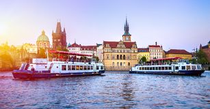 Prague is the capital of the Czech Republic Stock Image