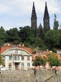 Prague, capital de la République de Chech. Image libre de droits