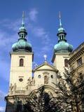 Prague, capital de la République de Chech. Images libres de droits