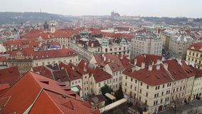 Prague stock footage