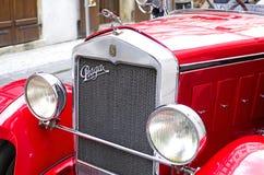Prague car Royalty Free Stock Image