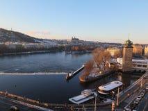 Prague castel czech republic royalty free stock photos