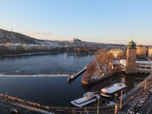 Prague castelTjeckien royaltyfria foton