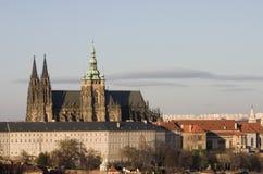 Prague castle stock photos