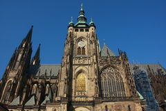 Prague castle. Royalty Free Stock Images