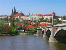 Prague castle. View on the Prague castle Stock Image