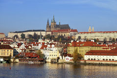 Prague castle. Royalty Free Stock Photography