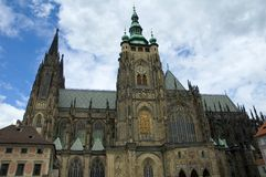 Prague castle Royalty Free Stock Images