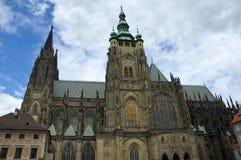 Prague castle. The castle in prague, czech republic royalty free stock images
