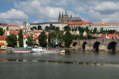 Prague Castle. (Czech Republic Stock Images