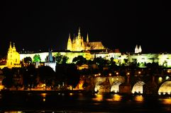 Prague castle. Royalty Free Stock Photography