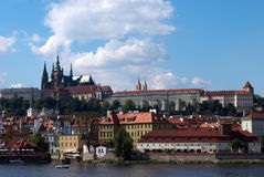 Prague castle. In summer day Royalty Free Stock Image