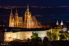 Prague castle stock photos